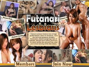 Lesbians real futanari