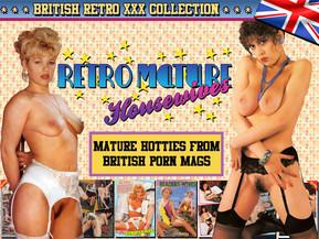 British retro porn, lost her bikini bottoms