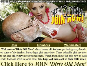 Sex having old dirty man